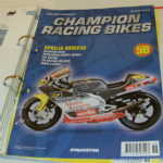 DeAGOSTINI CHAMPION RACING BIKES Issue 58 Magazine APRILIA RSW250